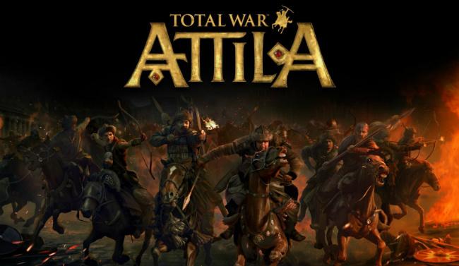 Total War: Attila - выглядит мрачно!
