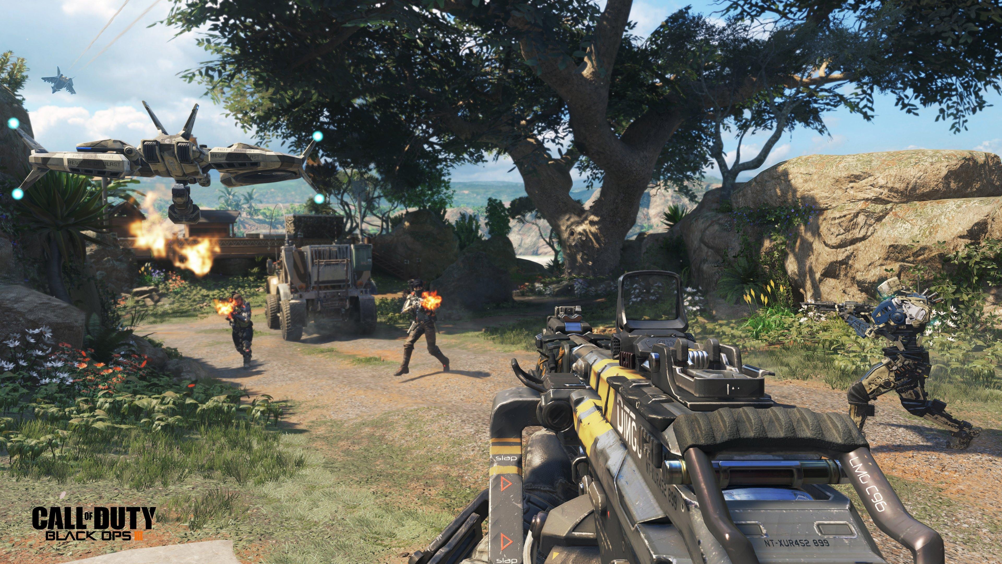 Call of Duty: Black Ops 3 - в далеком 2065 году...