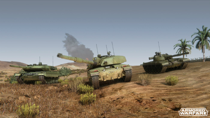 Armored Warfare - фееричные сражения!